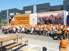 belettering Stichting 'Rolling on wheels'