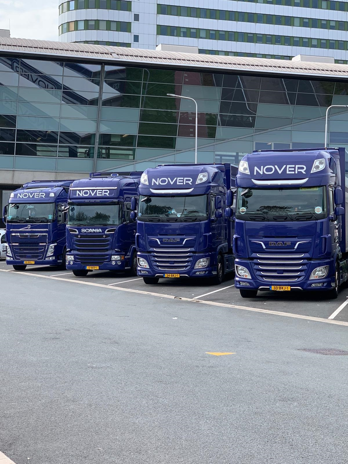 Parking-Vrachtwagens-Nover